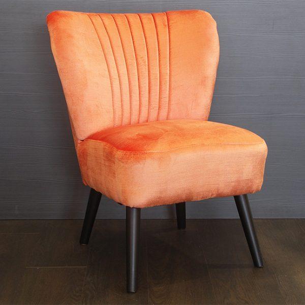 Fauteuil Braxton Orange