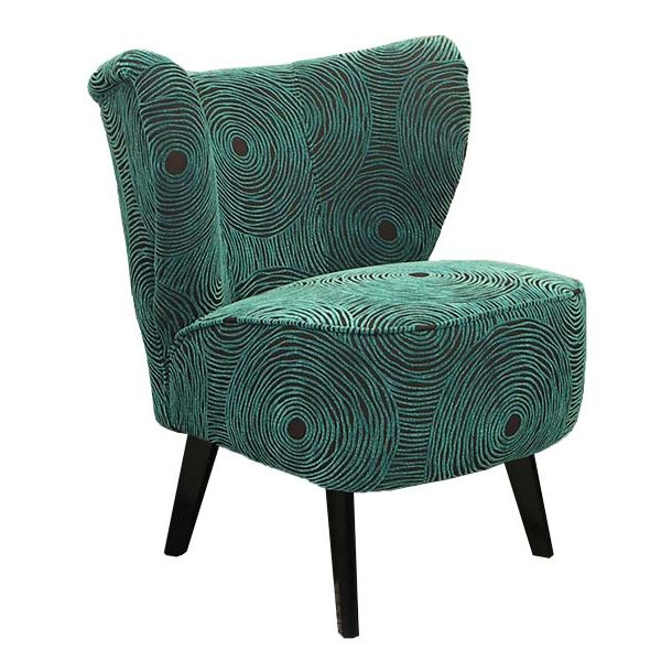 Fauteuil Lili turquoise