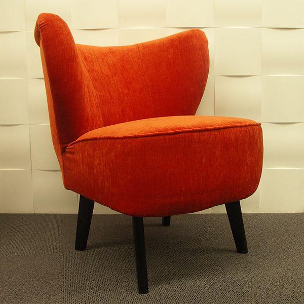 Fauteuil vintage Lili Orange