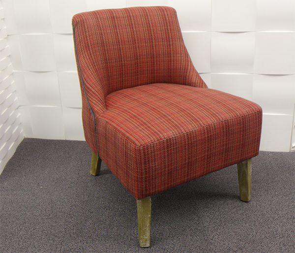 fauteuil Hanjel rouge