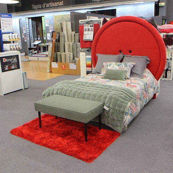 Jetée de lit Olivier Desforges avec 2 taies d'oreillers