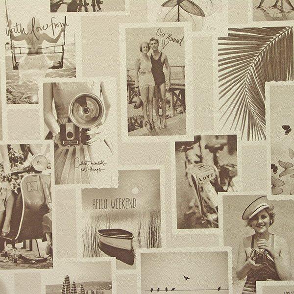 Papier peint galerie photo collage Montecolino