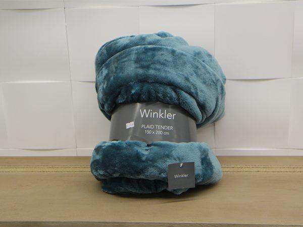 Plaid Tender Bleu Winkler