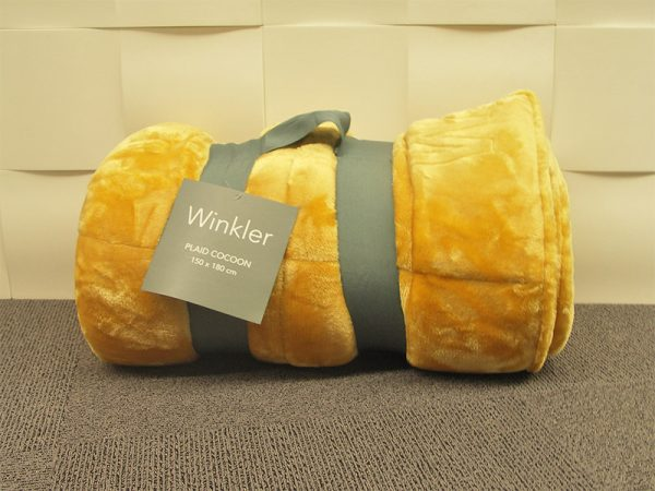 Plaid Cocoon Winkler Miel