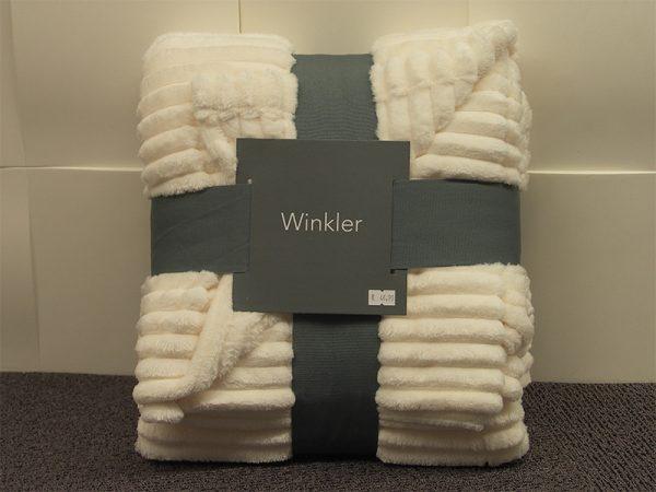 Plaid Minos Winkler Ivoire