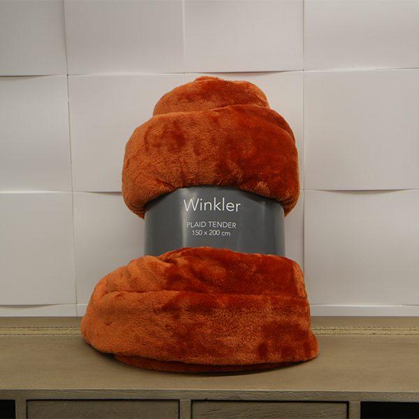 Plaid Tender Orange Winkler